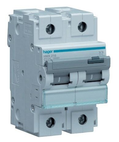 Автоматический выключатель 2P 10kA C-125A 3M
