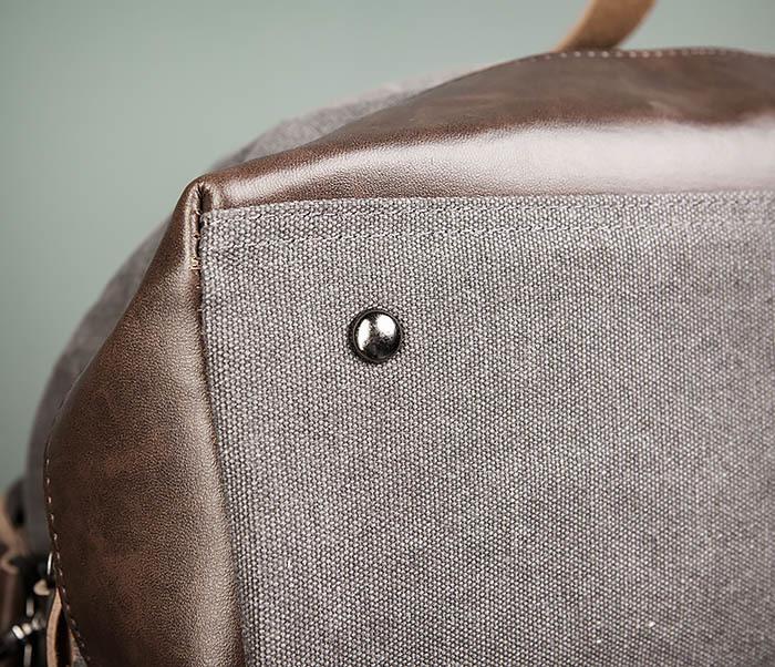 BAG478-3 Мужская сумка саквояж для поездок фото 09