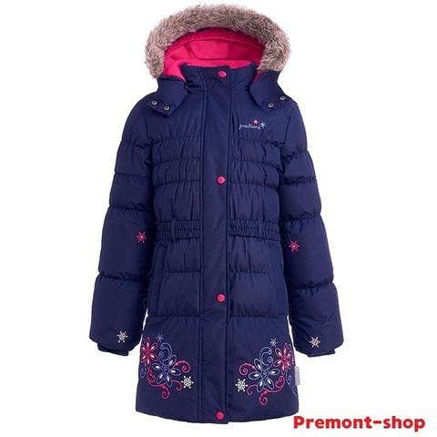 Зимнее пальто Premont Маршмеллоу WP91352 DARK BLUE