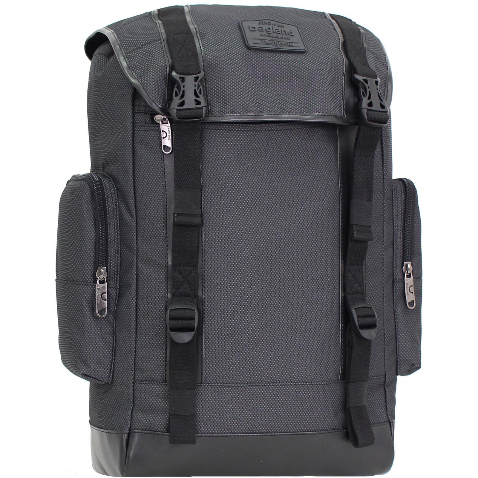 Городские рюкзаки Рюкзак для ноутбука Bagland Palermo 25 л. Чёрный (00179169) IMG_9374.JPG