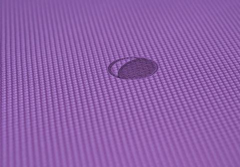 Коврик для йоги с разметкой Align Crimson Moon 183*61*0,6 см