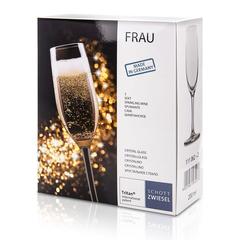 Набор бокалов для шампанского 200 мл, 2 шт, Frau, фото 2