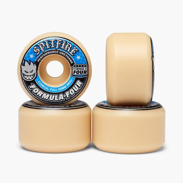 Колёса для скейтборда SPITFIRE F4 Conical Full (Blue) 99A