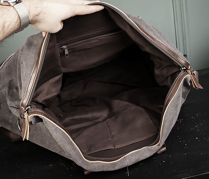 BAG478-3 Мужская сумка саквояж для поездок фото 10