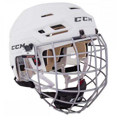 Шлем с маской CCM TACKS 110 XS белый