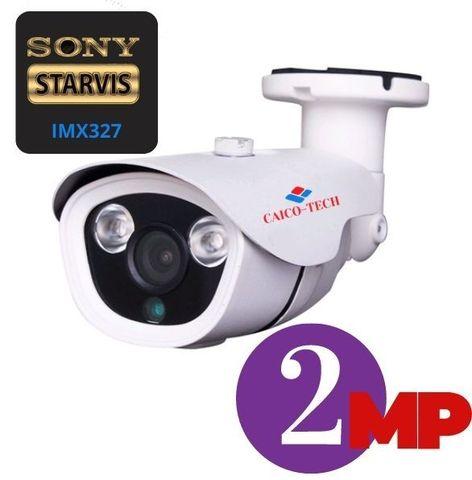 Уличная FULL-HD 2Mpix видеокамера STARLIGHT CMOS SONY IMX327 0,001lux гибрид AHD, TVI, CVI, CVBS