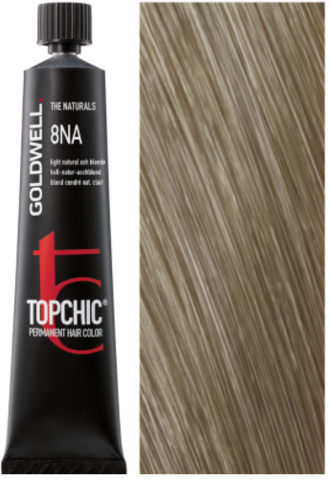 Goldwell Topchic 8NA пепельный светло-русый натуральный TC 60ml
