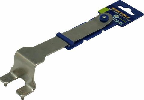 Ключ для планшайб ПРАКТИКА 30 мм, для УШМ, изогнутый (777-048)