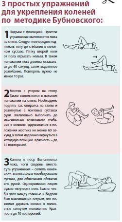 [Подарок] 3 упражнения для коленного сустава