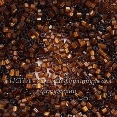 15101 Бисер Preciosa рубка 10/0, коричневый сатин