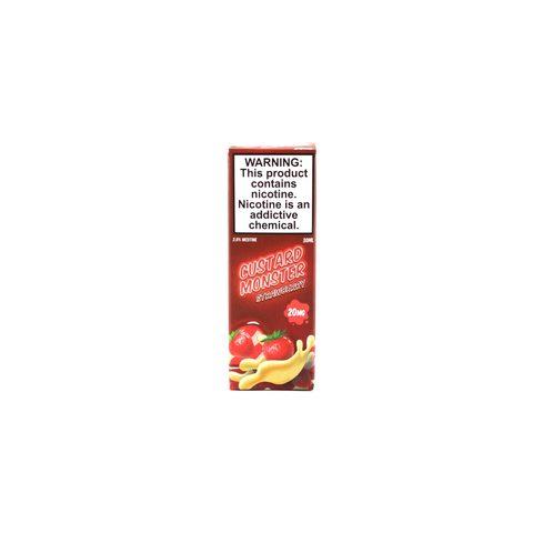 Жидкость Custard Monster Salt Strawberry