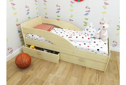 Кровать Антошка млечный дуб