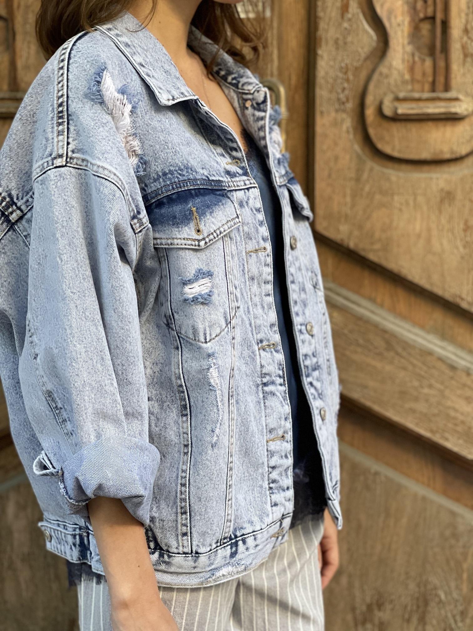 Джинсовая куртка, UNO, Courtney (голубой)