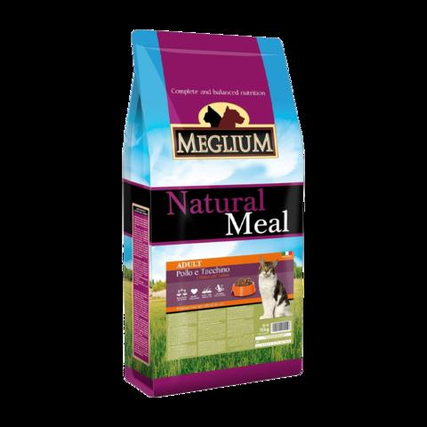 Meglium Adult Сухой корм для привередливых кошек с курицей и индейкой