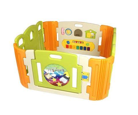 HNP-734D Манеж детский с музыкальной панелью (стандарт)