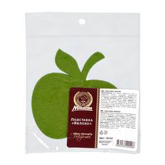 Подставка «Яблоко» фетровая 11х11 см