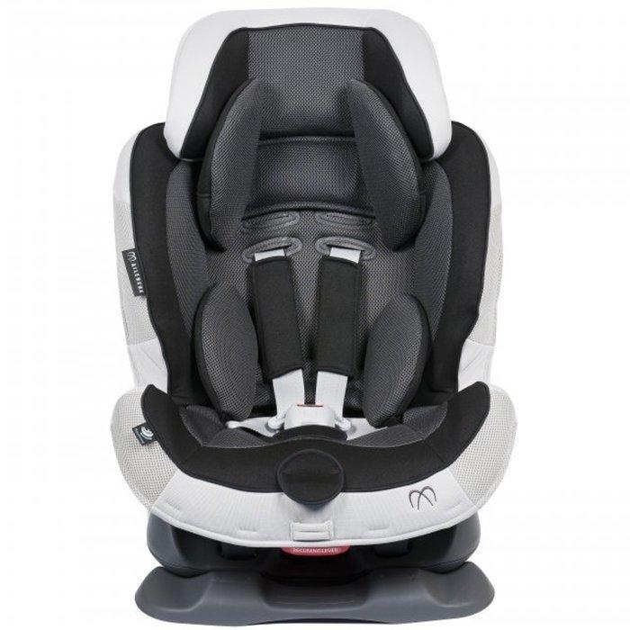 Carmate «Swing Moon» Black Grey - Детское автокресло от 9 до 25 кг.