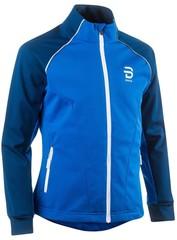 Детская куртка беговая Bjorn Daehlie 2020-21 Ridge Jr Estate Blue