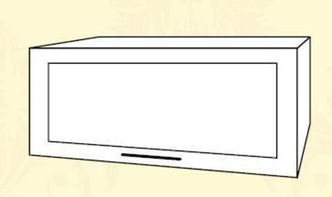ШВГС 500 Шкаф верхний горизонтальный стекло