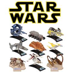 Star Wars Die Cast Titanium Vehicles Wave 01
