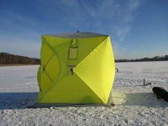 Палатка для зимней рыбалки куб Сахалин 4