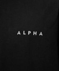 Футболка Alpha Industries Reflective Contract Black (Черная)