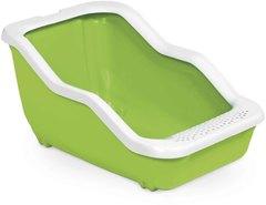 MPS туалет-лоток NETTA Open 54х39х29h см с рамкой салатовый
