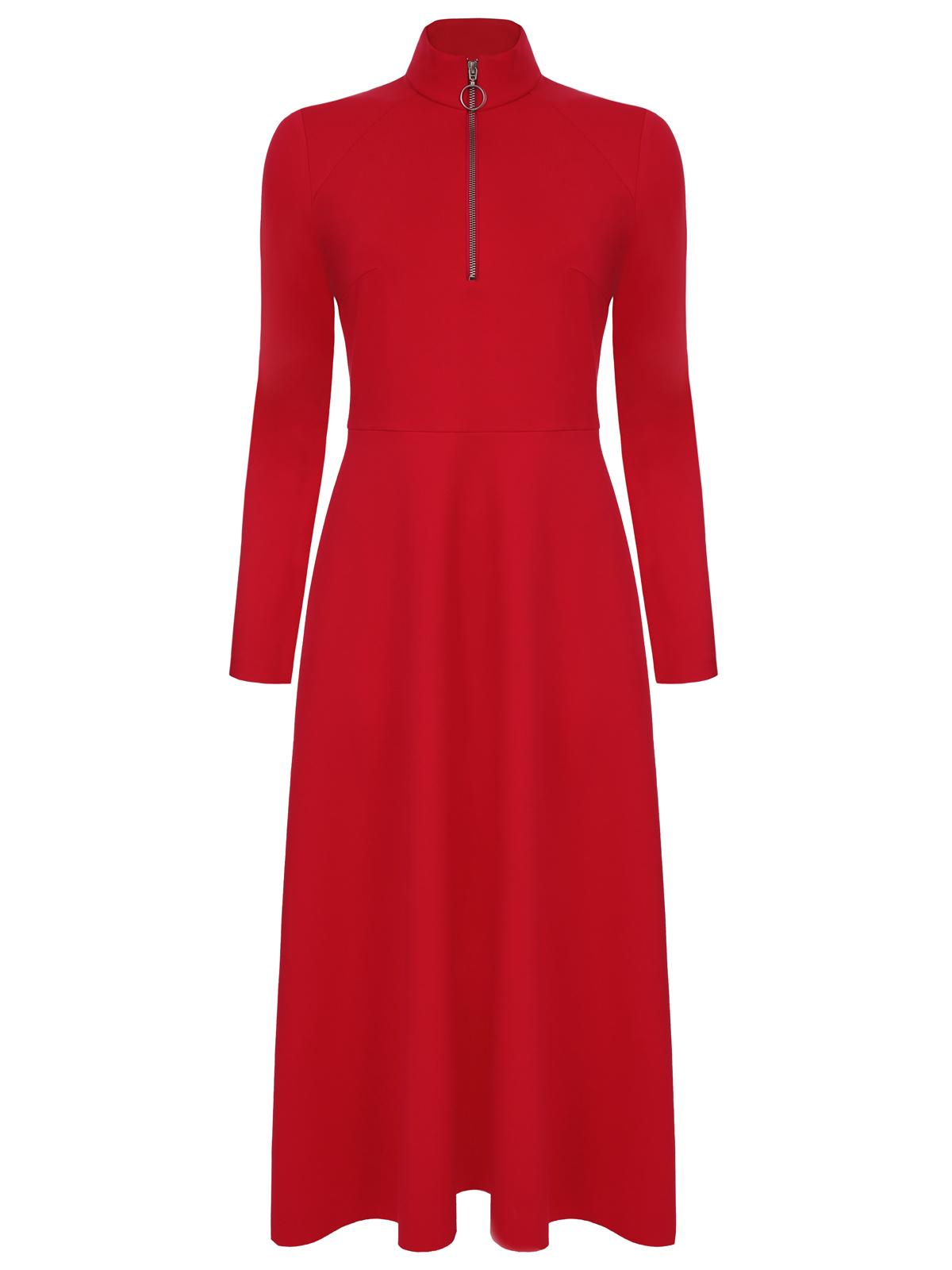 Платье алое (FW0475)