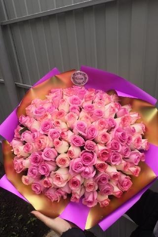 101 роза 💜
