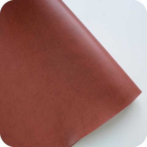 Кожзам переплетный матовый, коричневый