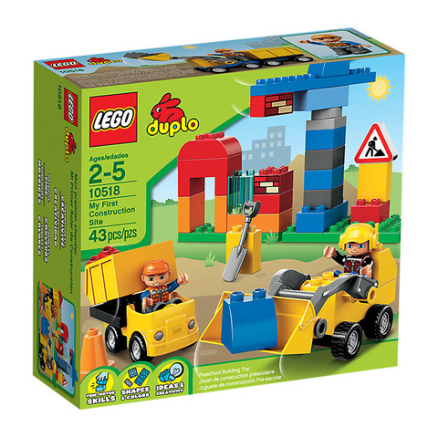 LEGO Duplo: Моя первая стройплощадка 10518 — My First Construction — Лего Дупло