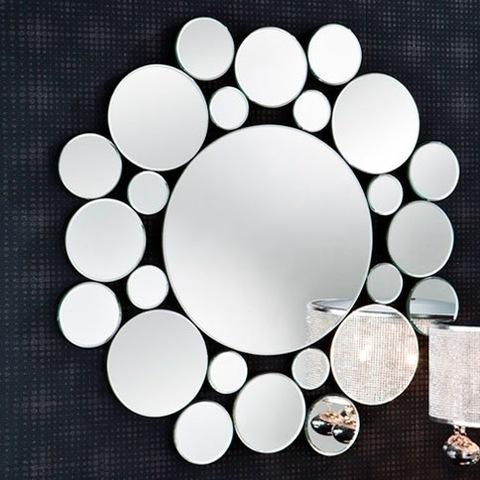 Зеркало Leila круглое