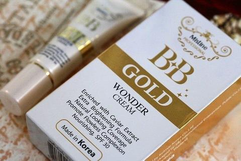 1. BB крем для лица на основе Золота и Чёрной икры от Mistine Professional и защитой SPF30