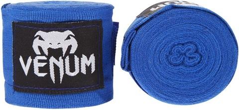 Бинты для бокса Venum Kontact 4m - Blue