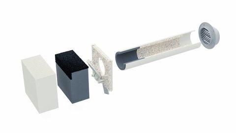 Стеновой клапан ДомВент Norvind Pro