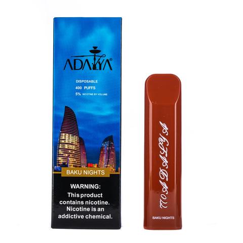 Одноразовая электронная сигарета Adalya Baku nights 5% 400 затяжек