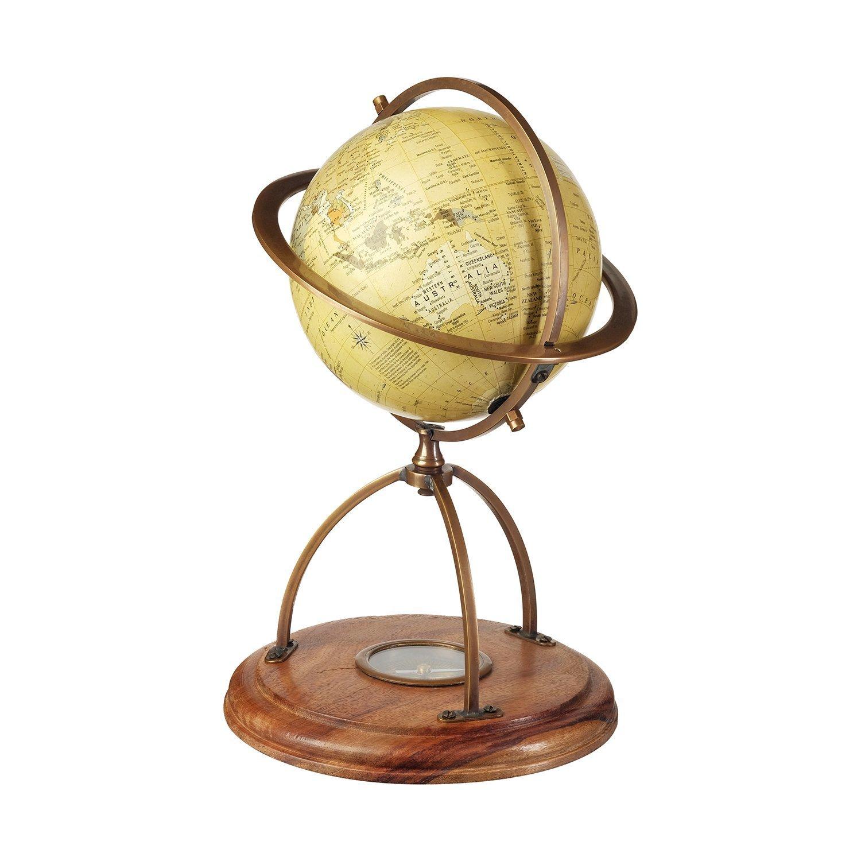 Декоративный глобус с компасом