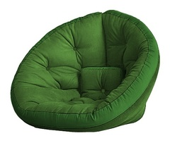 Кресло Farla Lounge Зелёное