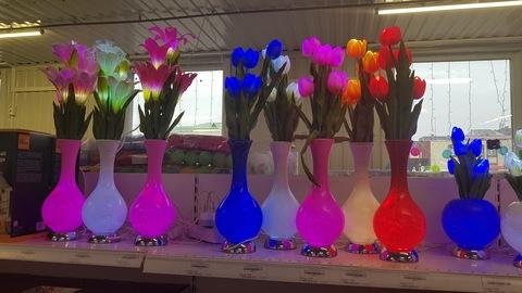 Тюльпаны светодиодные 75см