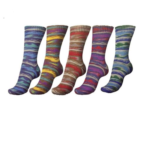 Носочная пряжа Regia Design Line Mountains and Fjords Color 7030 купить
