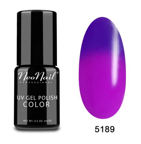 NeoNail Гель-лак UV 6ml Purple Bunny Термо №5189-1