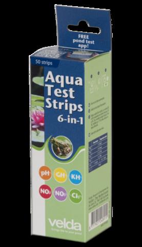 Экспресс-тест  Aqua Test Strips 6 in 1 Экспресс-тест