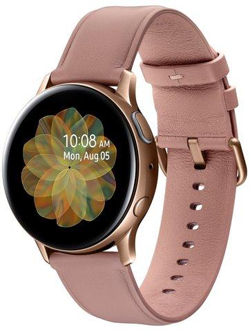 Умные часы Samsung Galaxy Watch Active2 Сталь, 40mm R830 Gold (Золотой)