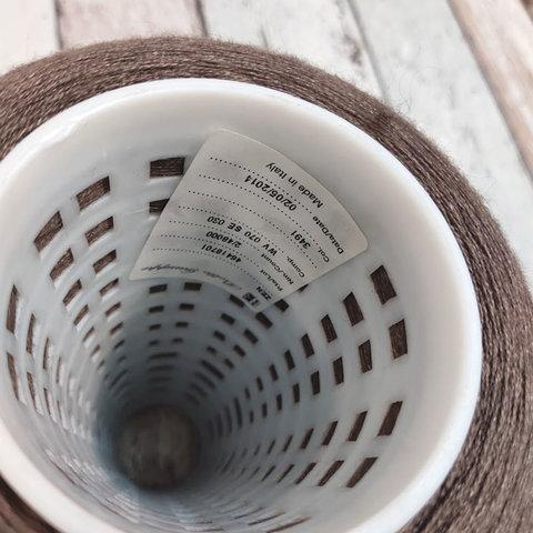 Меринос с шелком (30%) 2/60 BOTTO GIUSEPPE ZEN серо-коричневый