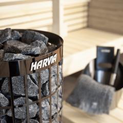 HARVIA Электрическая печь CILINDRO PC70E BLACK STEEL без пульта