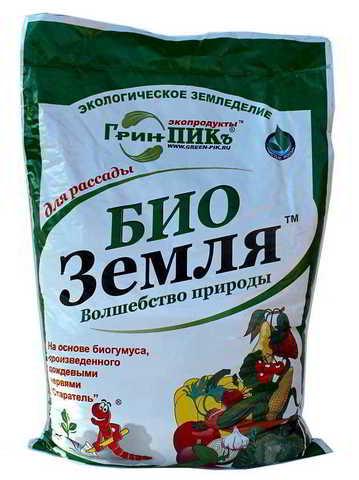 БиоЗемля для рассады ГринПик 5 л.