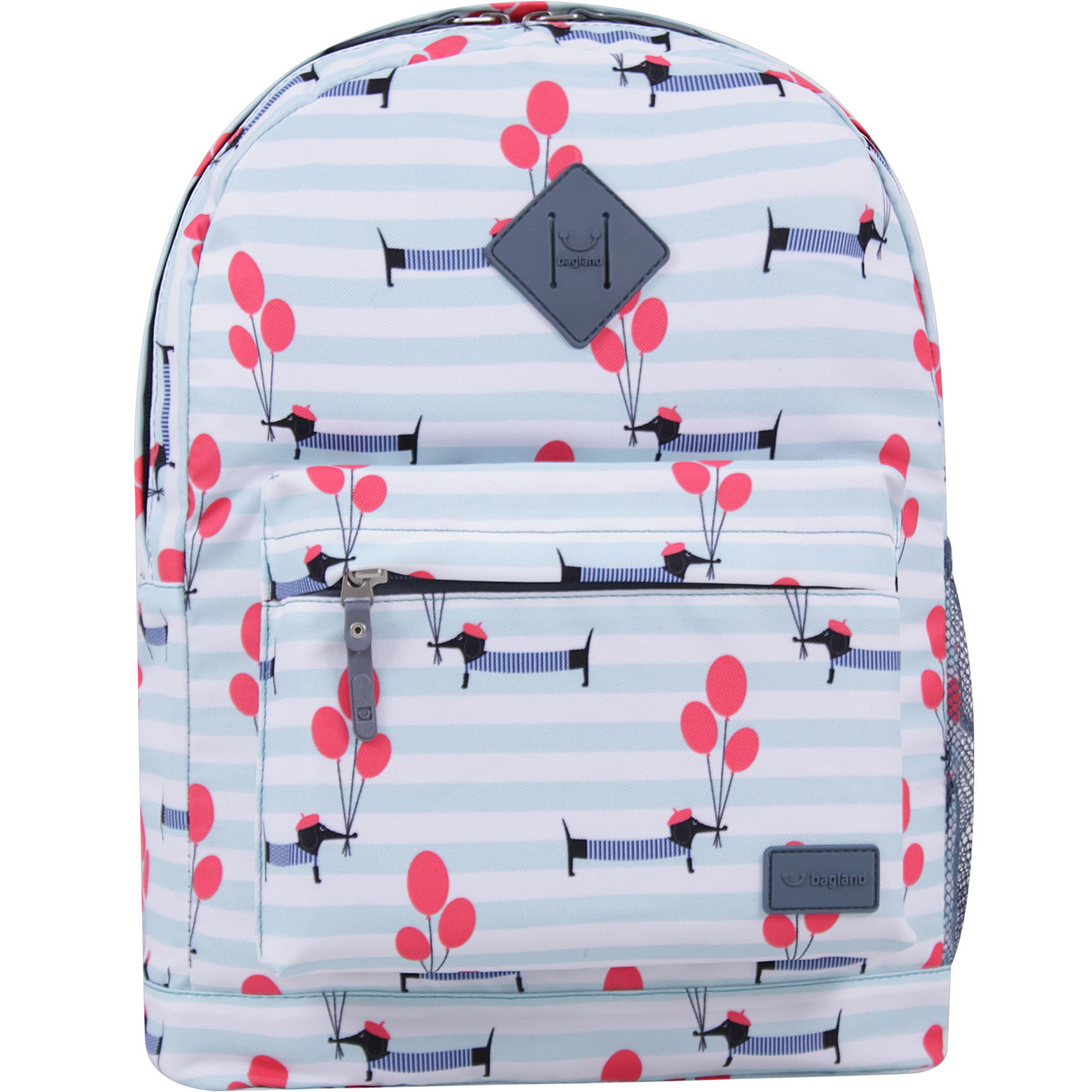 Городские рюкзаки Рюкзак Bagland Молодежный 17 л. сублімація 821 (00533664) IMG_3271_суб821_-1600.jpg