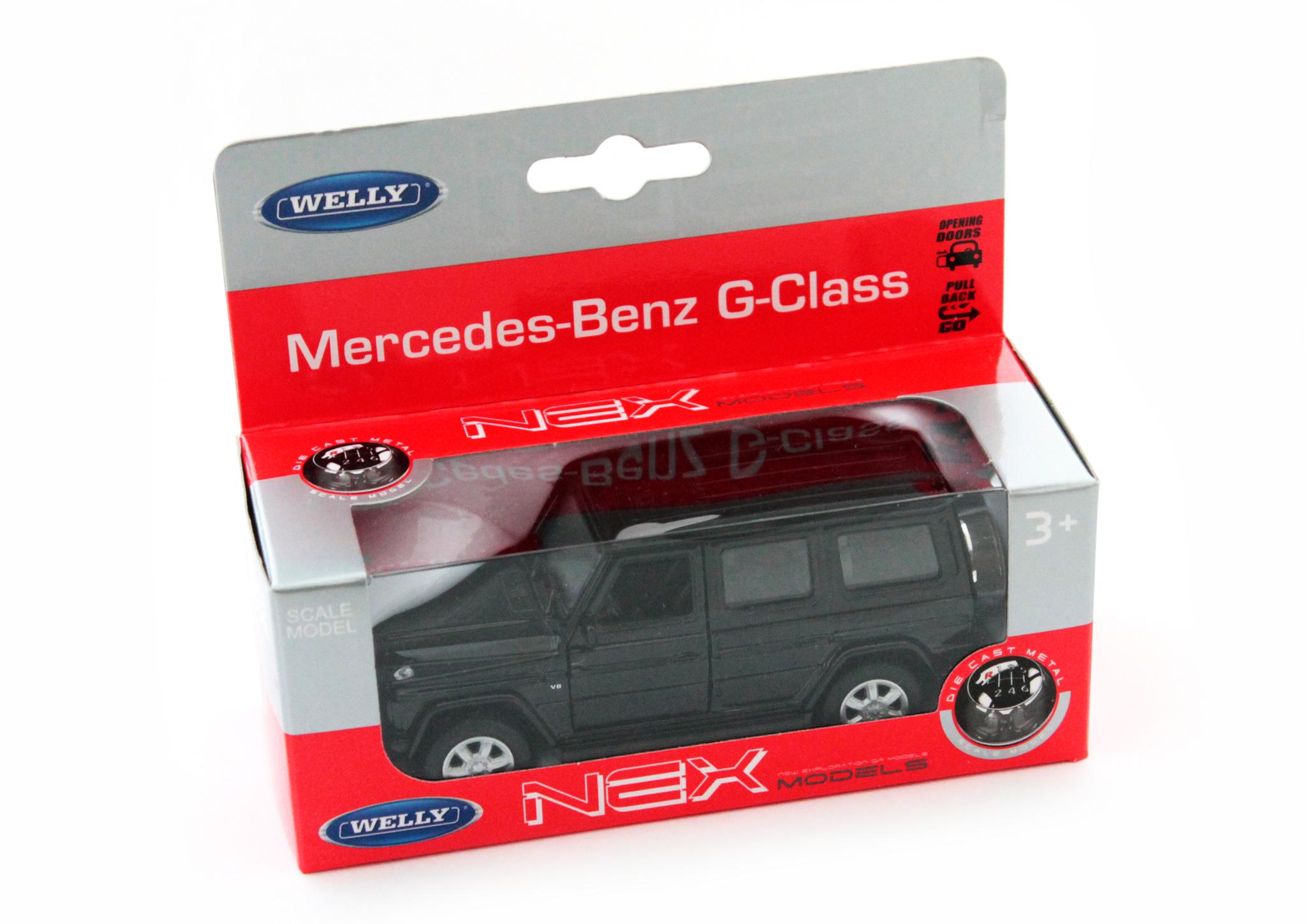 Машинка-игрушка Mercedes-Benz Gelandewagen (G-Classe)
