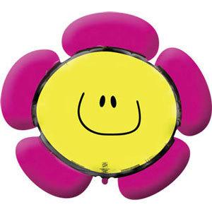 Фольгированный шар Цветочек розовый 104см