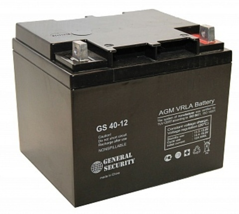 Аккумулятор GS  40 А/ч 12В